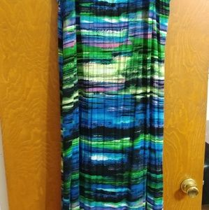 Dresses & Skirts - Colorful maxi skirt sz 3x